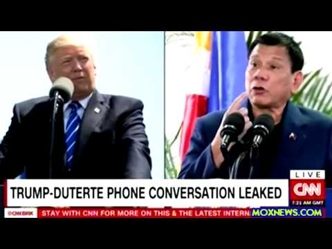 LEAKED Phone Call Shows President Trump Praising Philippines President On Drug War!