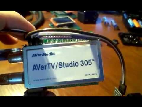 AVERMEDIA AVERTV STUDIO 305 TREIBER WINDOWS XP