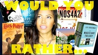 WOULD YOU RATHER | BOOKTUBE EDITION Thumbnail
