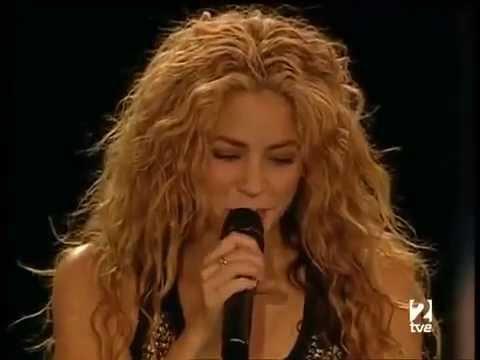 Shakira En vivo - Ay Amor que no haría yo por ti- #HayAmores