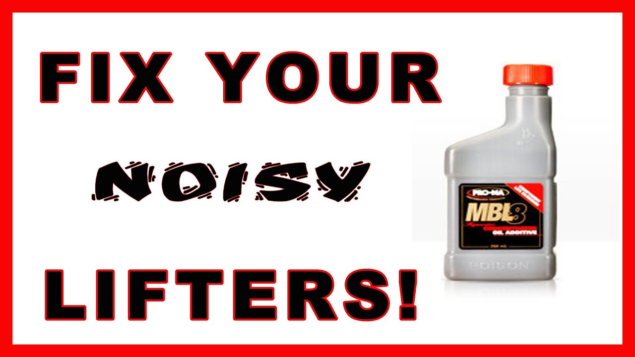How to fix Noisy Lifters, Does Motor flush work? On your next Oil change  Try this Engine Treatment!