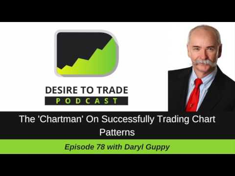 078: The 'Chartman' On Successfully Trading Chart Patterns - Daryl Guppy