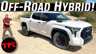 AllNew 2022 Toyota Tundra TRD Pro Is LOADED with THIS Surprising On & OffRoad Tech!