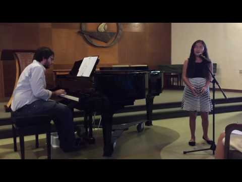 11 year old Amanda Marcos singing RISE UP at Mid-Peninsula Music Academy's 2nd Recital