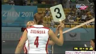 Universiade2011 Japan vs Poland set3b