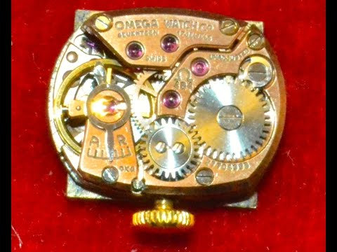 Gold 18K Omega Watch Garage Sale Finds & Estate Sale Haul Th
