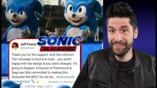 Sonic Movie Director Responds & Will Fix Character Design (My Thoughts)