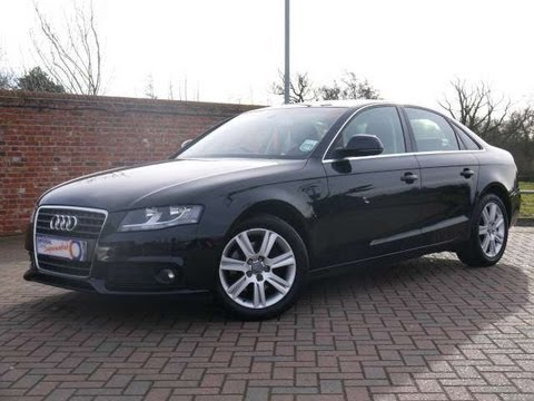 2008 audi a4 se 1 8t 160 saloon for sale in hampshire youtube. Black Bedroom Furniture Sets. Home Design Ideas