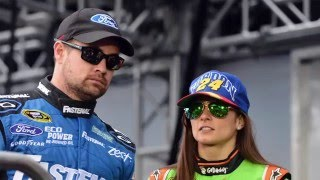 Ricky Stenhouse Jr. On Competing Against Girlfriend Danica Patrick
