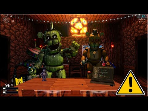 New Minecraft Office In UCN! +Creeper Mask (UCN Mods)