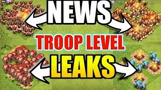 OMG😲 TH12 ALL TROOPS LEVEL LEAKED IN CLASH OF CLANS