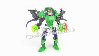 Lego Super Heroes: Green Lantern + Joker Combiner 1 (ultrabuild)
