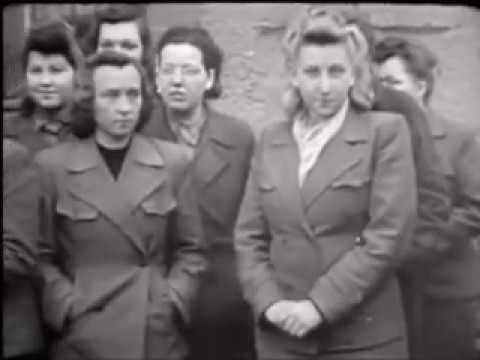 Captured German Women Prisoners WW2
