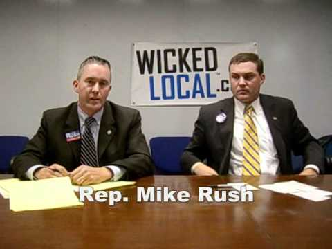 Mike Rush and Brad Williams debate at Wicked Local -- Part 1