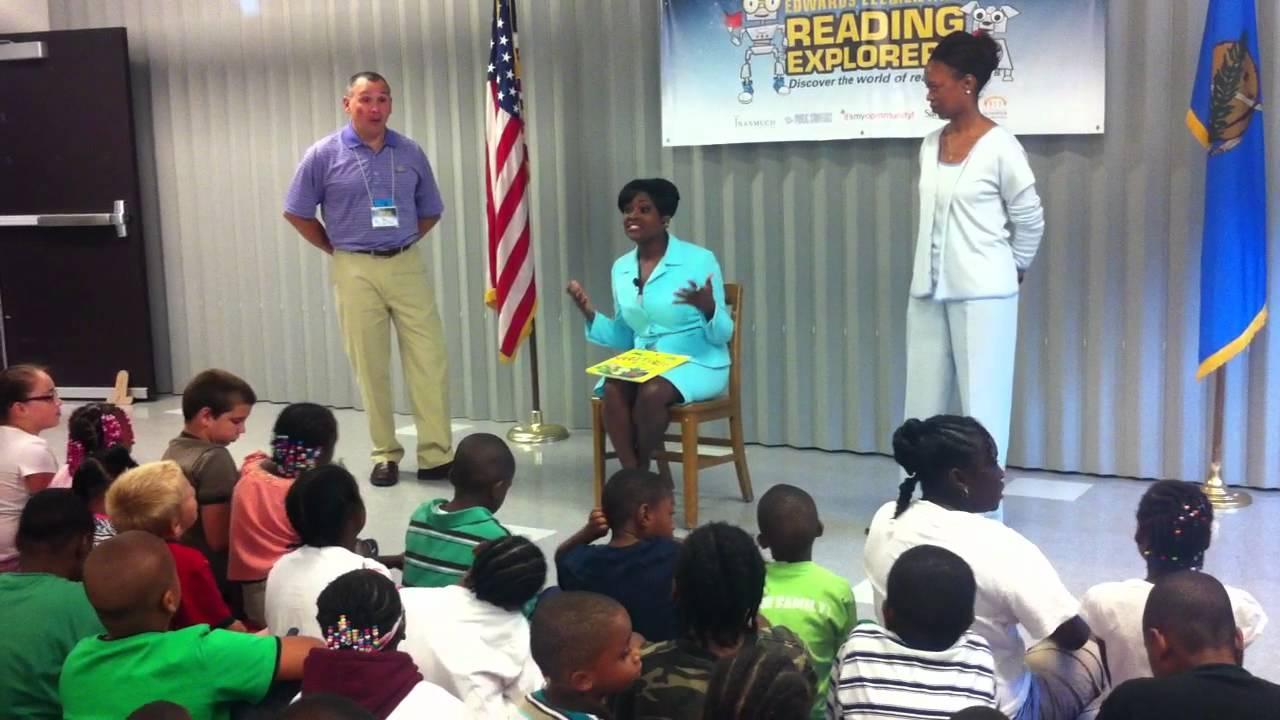 Guest Reader Video - Anita Blanton - YouTube