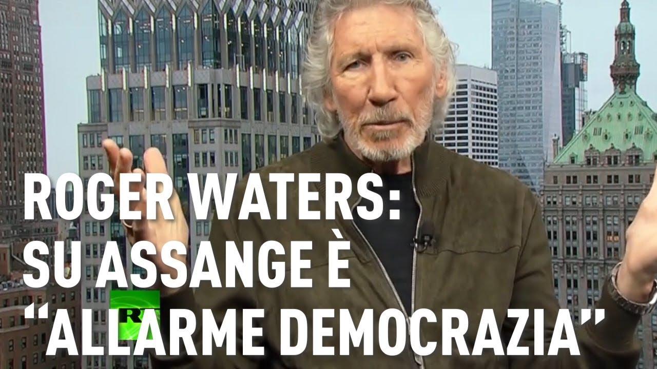 """PTV News - 18.04.19 - Roger Waters: su Assange è """"Allarme Democrazia"""""""