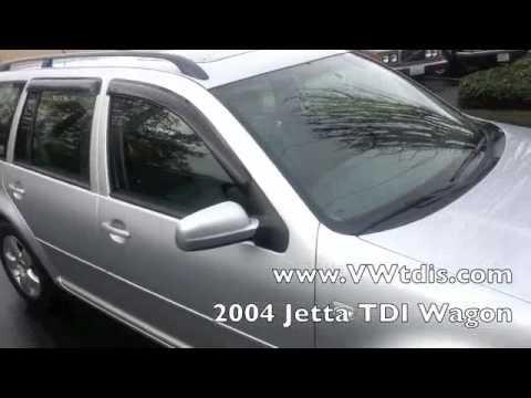 2004 VW Jetta Wagon TDi. Heated leather seats. Automatic. CD Player. Moon Roof