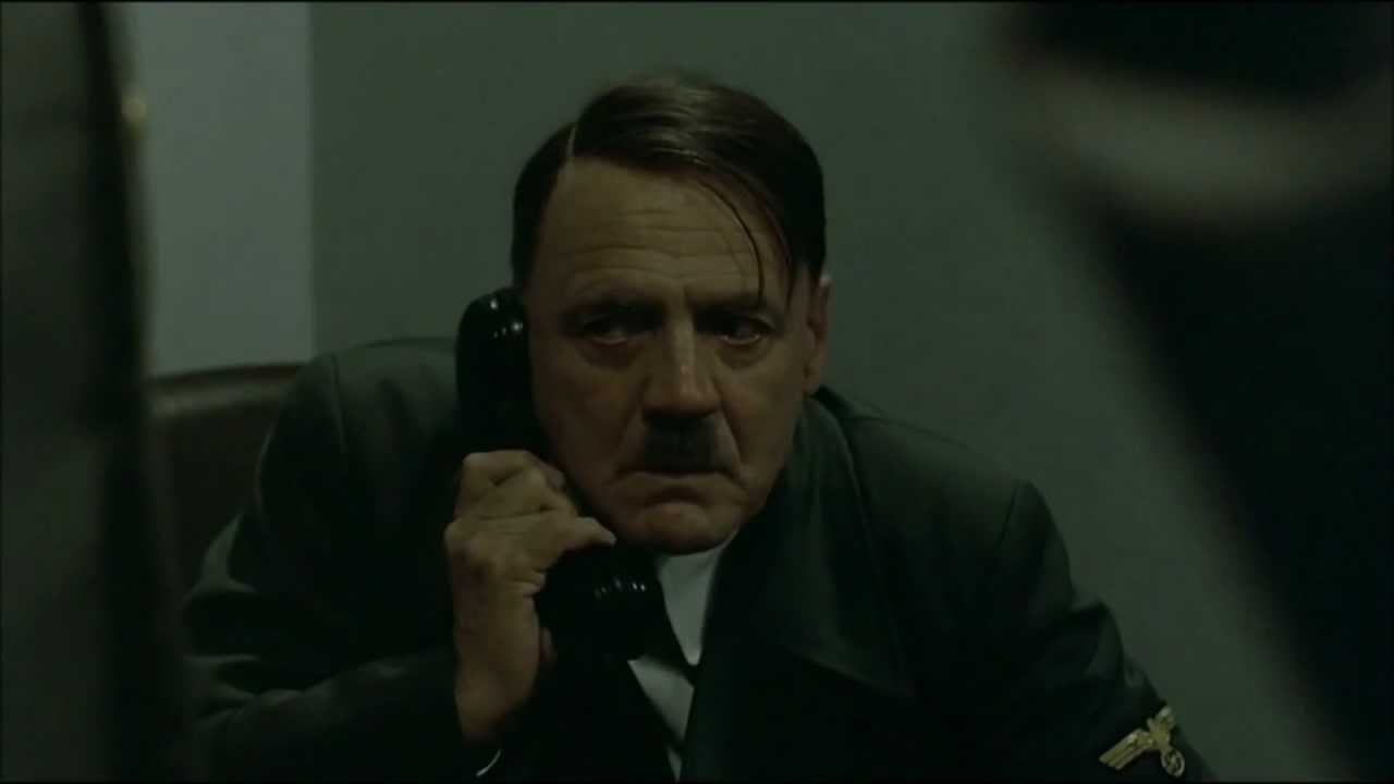 Hitler phones Gordon Ramsay