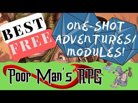 Best Free One-Shot Adventures/modules!