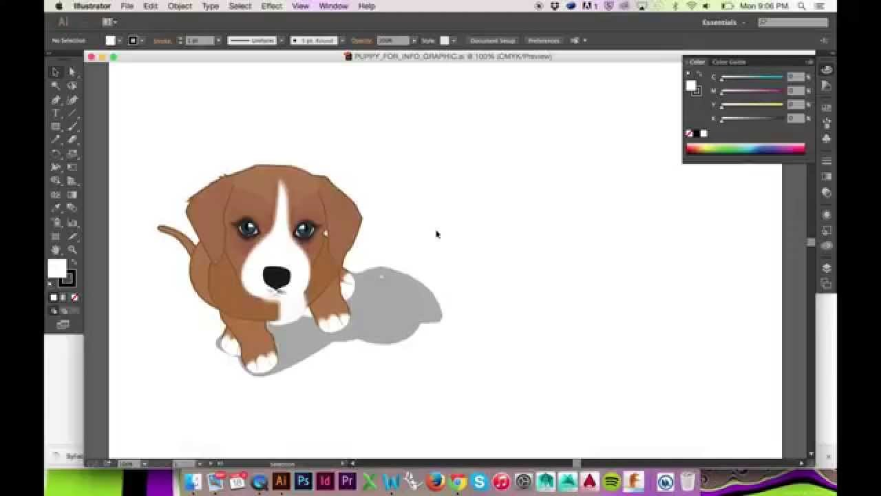 How to make a drop shadow in illustrator cs6cc youtube ccuart Images