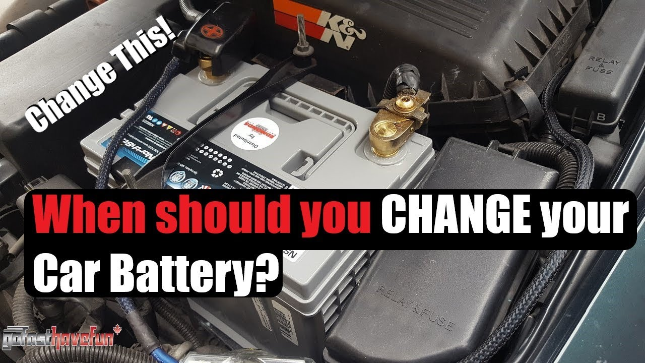 When Should You Change Your Car Battery?