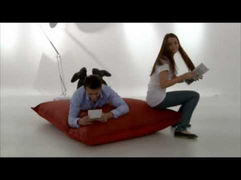 big g beanbag le pouf g ant multi usages youtube. Black Bedroom Furniture Sets. Home Design Ideas