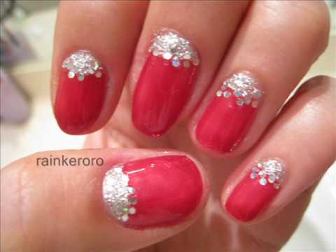 Red beauty nail art tutorial youtube red beauty nail art tutorial prinsesfo Image collections