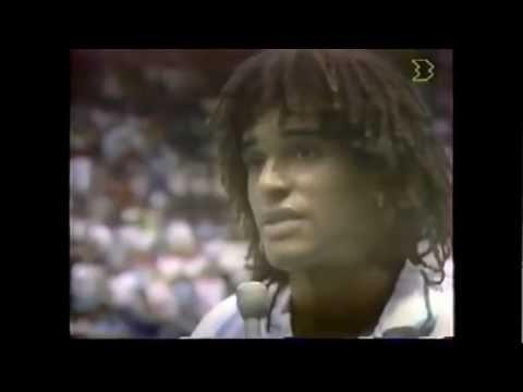 Andre Agassi vs Yannick Noah 1989 Davis Cup 3/3