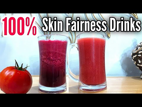 Acne Spots, Brown Spots & Pigmentation Removal Drink, Get Fair Skin 100% Naturally At Home