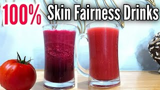 Acne Spots, Brown Spots &amp Pigmentation Removal Drink, Get Fair Skin 100% Naturally at home