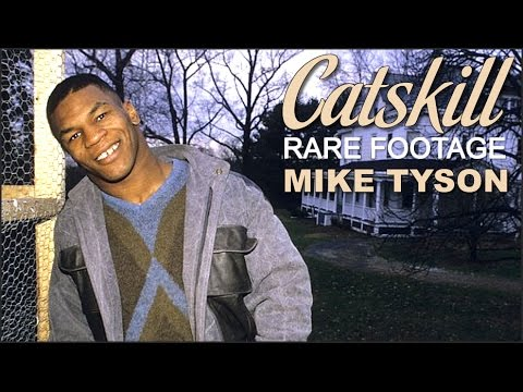 Mike Tyson interview in Catskill + Cus D'amato rare footage