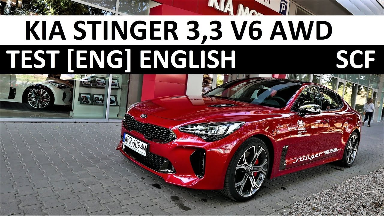 2018 KIA Stinger GT 3.3 V6 AWD Review [ENG] TEST [First Impression]
