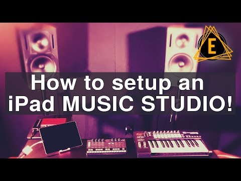 How to setup an iPad Music Studio!