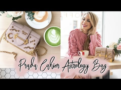Prada Cahier Astrology Bag | Honest Review & Try On | Joëlle Anello