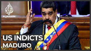 Us Indicts Venezuela's Maduro On Narco-terrorism Charges