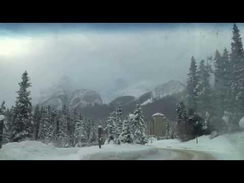 Banff/Alberta/Canada in the winter