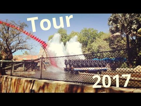 Busch Gardens Tampa Tour 2018 HD