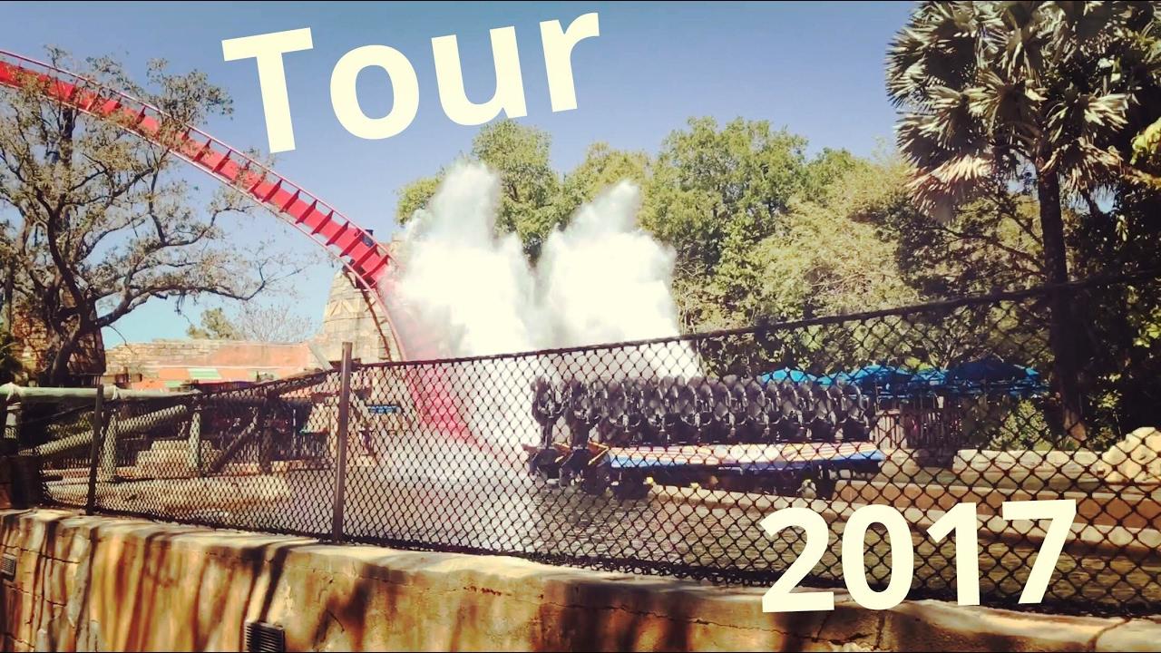 Busch Gardens Tampa Tour 2018 Hd Youtube
