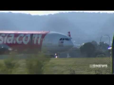 Air Asia engine fail