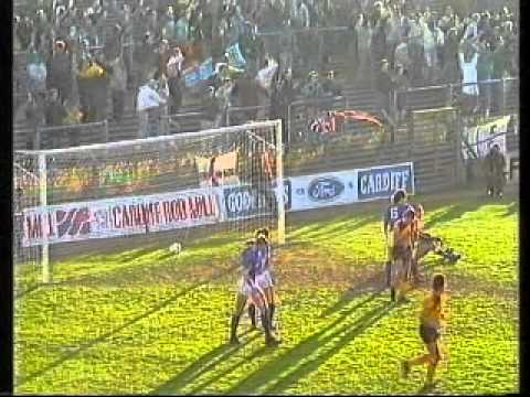 1988/89 Season: Cardiff City 1 - 2 Hull City (F.A. Cup 3rd Round)