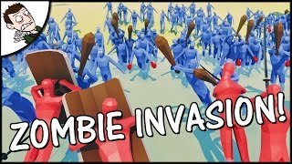 ZOMBIES TAKE OVER THE WORLD?! Totally Accurate Battle Simulator Gameplay