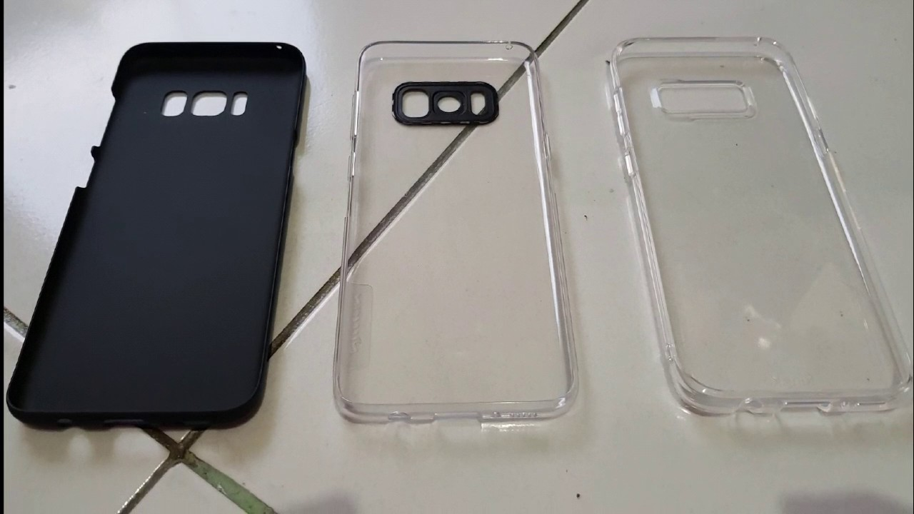 Samsung Galaxy S8 Ringke And Nillkin Casings Youtube Synthetic Fiber Case Plus