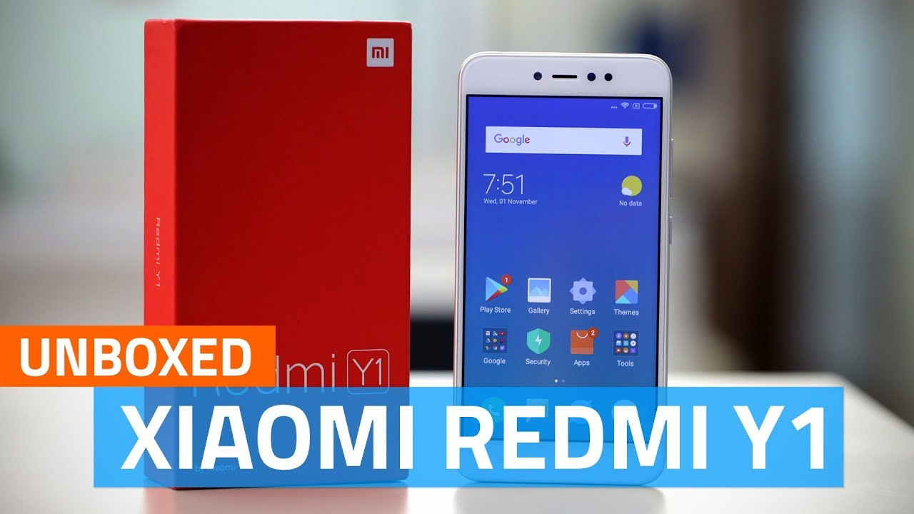 Xiaomi Redmi Y1 Unboxing India Price Specifications And More Casing Handphone Back Tempered Glass Series For Note 2 Golden Free