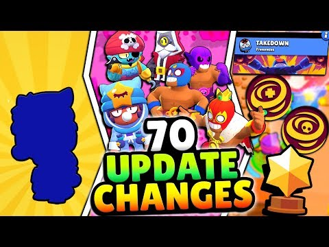 70 NEW UPDATE CHANGES! LEGENDARY BRAWLER, 2 NEW GAME MODES & MORE! EVERY BRAWL UPDATE CHANGE!