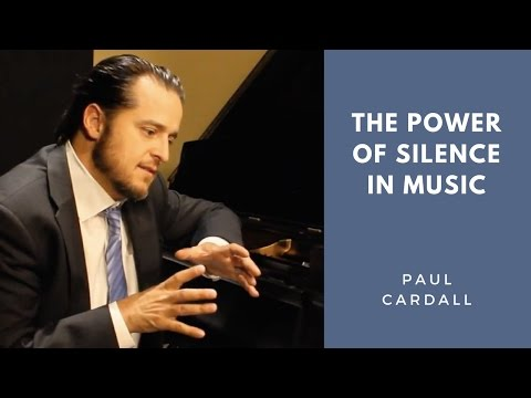 The Power of Silence in Music | Paul Cardall