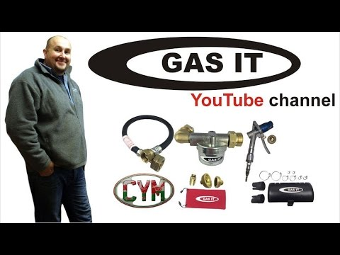 GAS IT Vapour Filters for Gas bottles and Gas tanks to reduce Contamination