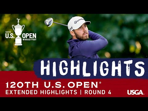 2020 U.S. Open, Round 4: Extended Highlights
