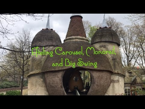 Efteling Theme Park Netherlands, Carousel, Monorail, Big Swing