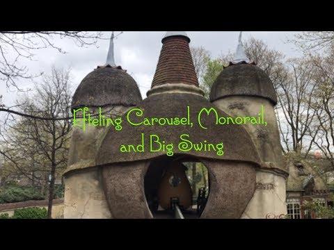 Efteling Theme Park Netherlands, Carousel, Monorail, Big Swing