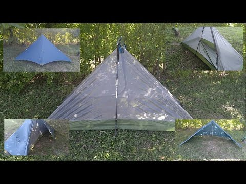 GEERTOP 1-Person 3-Season Trekking Pole Tent